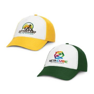 Oregon Cap 5 Panel Cap - White Front 106092 Image