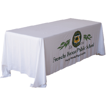 Tablecloths - Throw Over Image