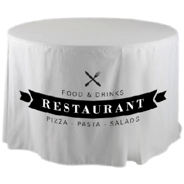 Round Fitted Tablecloth Image