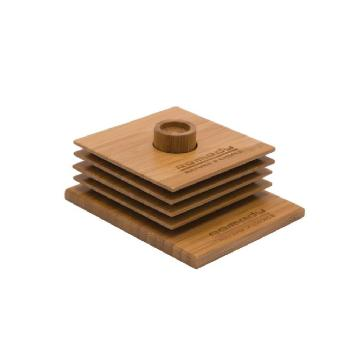 Bamboo Coaster Set ECO1116 Image