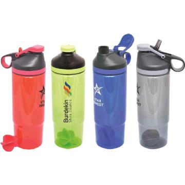 Trio Water Bottle - Shaker - BPA Free R79 Image