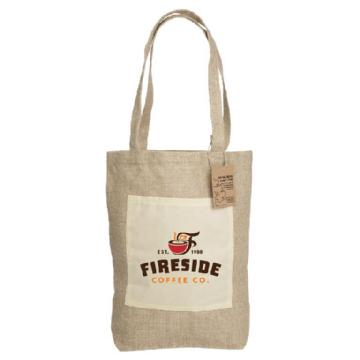 Reforest Jute Shopping Bag with Gusset RB302 Image