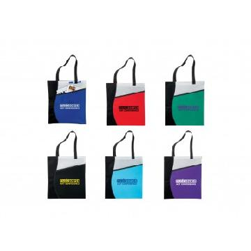 ATCHISON® Pattern Curve Non-Woven Tote AP8410 Image