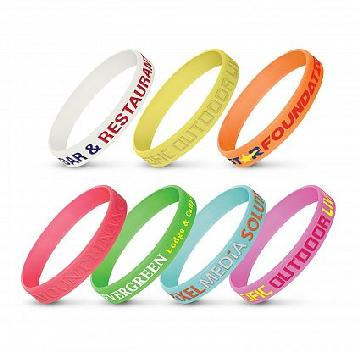 Silicon Wrist Band - Glow in the Dark 112806 Image