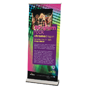 Pull up Banners 60cm x 1600 Premium Image