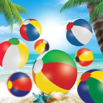 Beach Ball- 21 cm Mix N Match 110504 Image