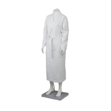 BR126 Waffle Bath robe with Collar Image