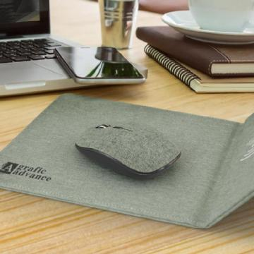 Greystone Wireless Charging Mouse Mat 116768 Image