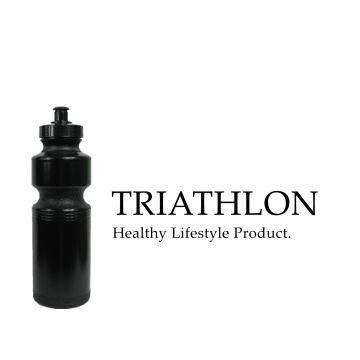 Australian Made Triathlon Water Bottle SQ0431 Image