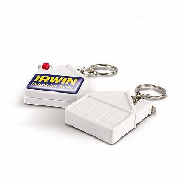 100306 House Shaped Measure Key Ring Image