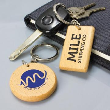 Artisan Key Ring - Rectangle 112137 Image