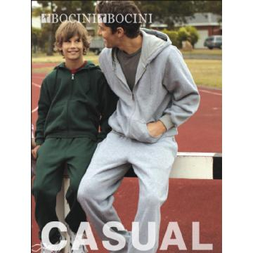 BOCINI ZIP THROUGH FLEECE HOODIE CJ1062 Image